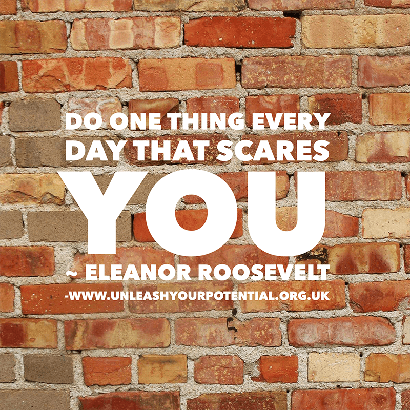 Been out of your comfort zone recently? – reframe it …