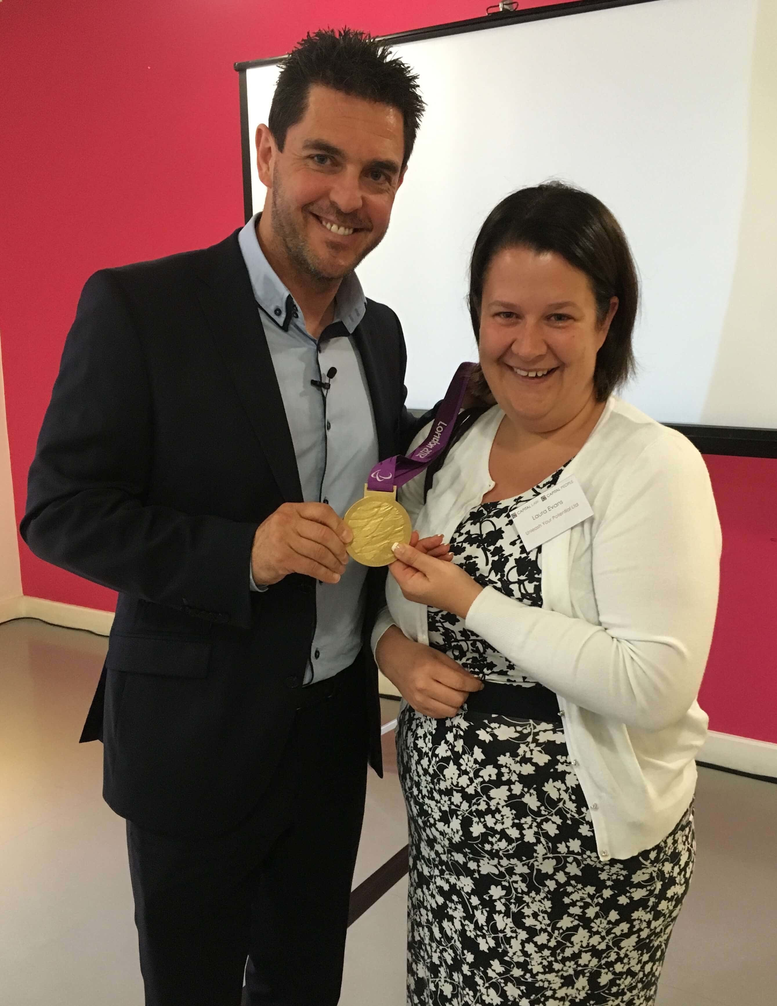 Winners never quit on their goal – reflections of an evening with Mark Colbourne MBE